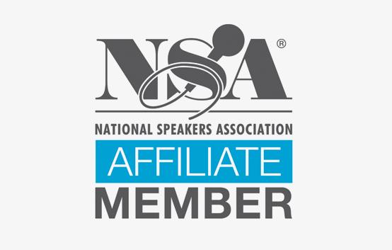NSA National Speakers Association Affiliate Member