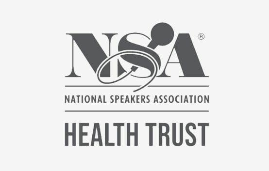 NSA National Speakers Association Health Trust logo