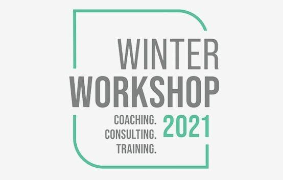 Winter Workshop 2021 Coaching. Consulting. Training. logo