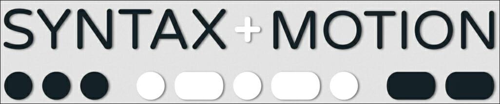 syntaxandmotion