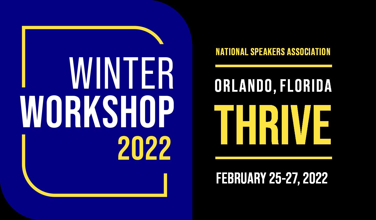 Winter Workshop 2022